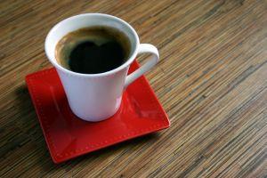 káva před cvičením
