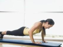 Cvičení s vlastní vahou - kliky