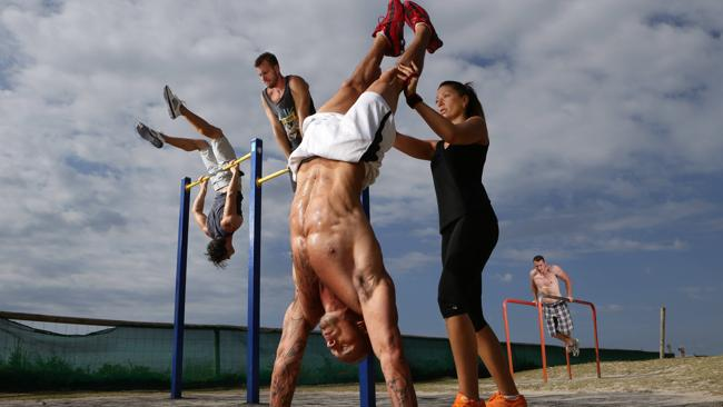Kalisthenika - cvičení s vlastní vahou
